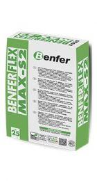 Багатофункціональний клей Benferflex Max S2 White (C2TES2) до 20мм, деформація до 6мм