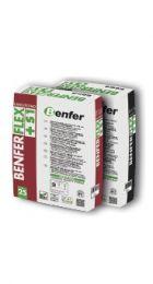 Клей Benferflex-S1 Extra White (C2TES1) до 20мм, деформація до 2,8мм