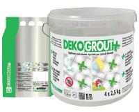 Цементна затирка Dekograut+ Ширина швів: 1-10 мм